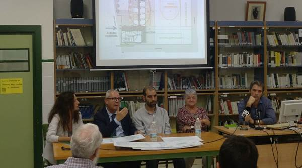 Presentación del Proyecto del Colegio de Casines