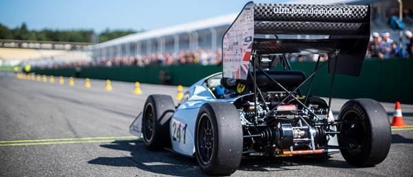 Prototipo de la Fórmula Student en Inglaterra