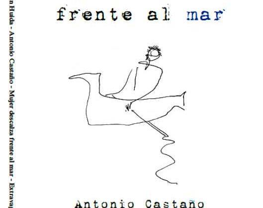 Mujer descalza frente al mar, el libro de Antonio Castaño