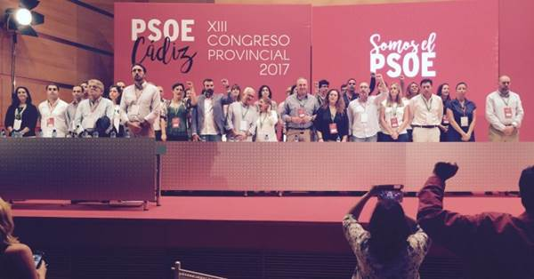 Comité Ejecutivo del PSOE Cádiz