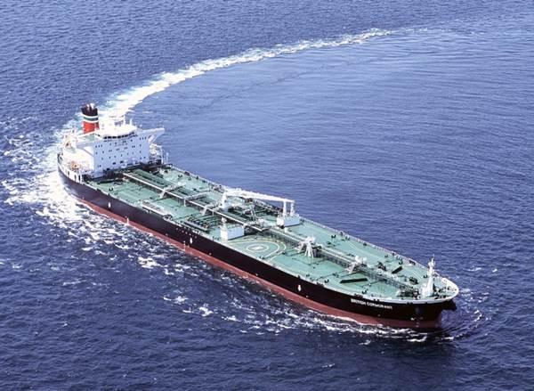 Petrolero de BP que será reparado en Navantia