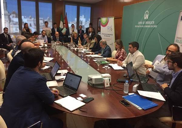 Reunión del Grupo de Transporte de Cádiz