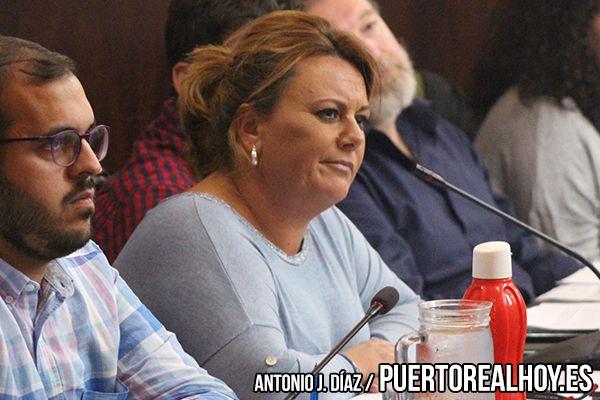 Elena Amaya en el Pleno del Ayuntamiento