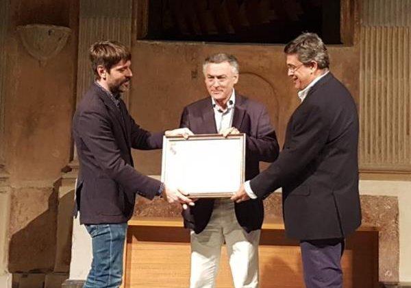 Federico Fernández recogió el Premio a la Promoción Turística