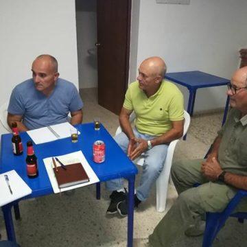 Miembros de La Chacona con AxSí