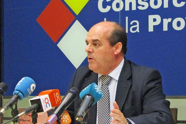 Francisco Vaca, Presidente del Consorcio de Bomberos de la Provincia de Cádiz.