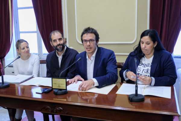 Romero y González en rueda de prensa