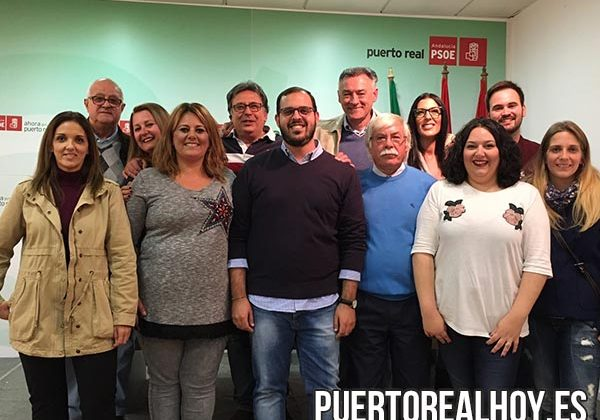 Ejecutiva Local del PSOE de Puerto Real