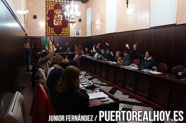 Votación del Pleno durante el mes de Diciembre