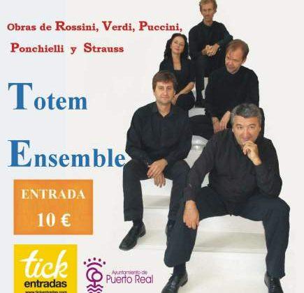 Cartel de Totem Ensemble para Fin de Año