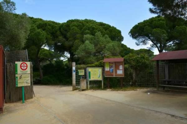 Entrada por el Parque de La Algaida