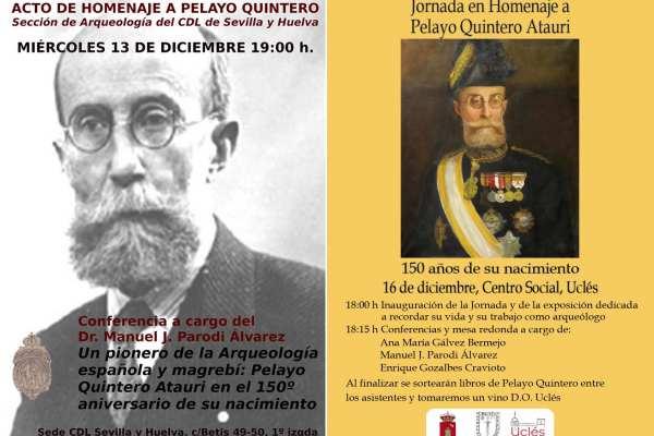 Conferencias de Manuel J. Parodi sobre Pelayo Quintero