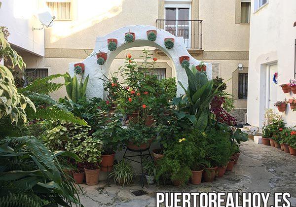 Patio de una casa de Puerto Real