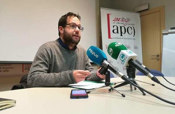 José Ignacio García, de Podemos