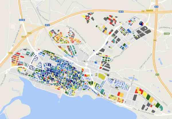 Precio del metro cuadrado de la vivienda en Puerto Real