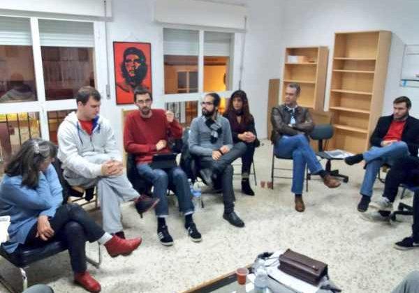Reunión del Partido Comunista en Puerto Real
