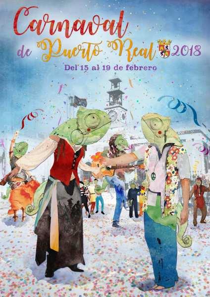 Cartel de Carnaval de Puerto Real 2018