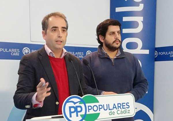 Antonio Saldaña (PP) en rueda de prensa