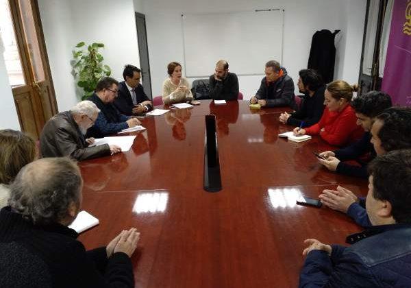 Reunión en el Ayuntamiento de Puerto Real para el Colegio de Casines