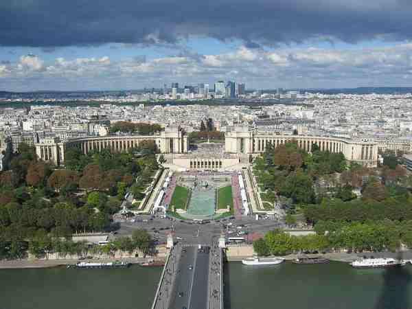 Plaza de El Trocadero, en París