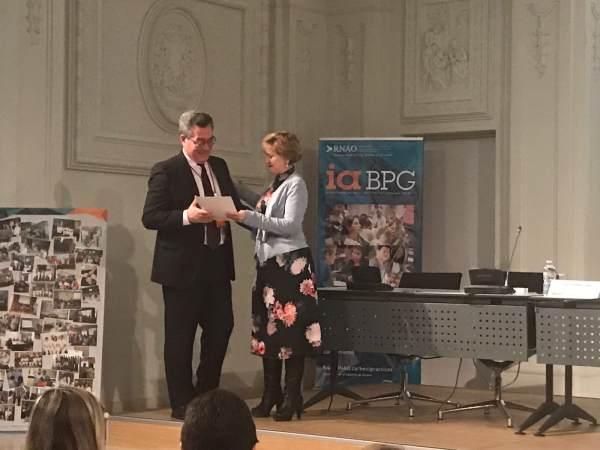 El Hospital de Puerto Real recogiendo un premio a Nivel nacional en Cuidados