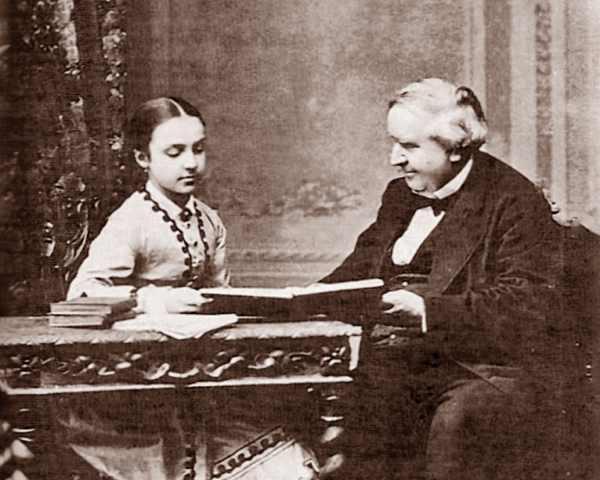 Antoine de Latour y la Infanta Mercedes