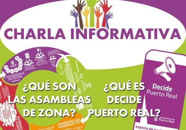CHarlas informativas sobre las Asambleas de Zona