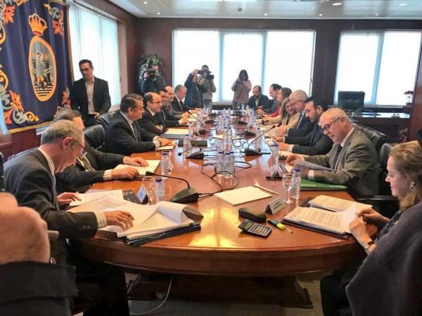 Reunión del Consorcio de Las Aletas.