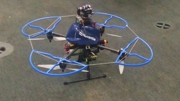 Navantia comienza el uso de drones.