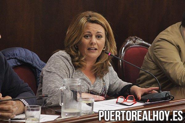 Elena Amaya, Portavoz del PSOE de Puerto Real.