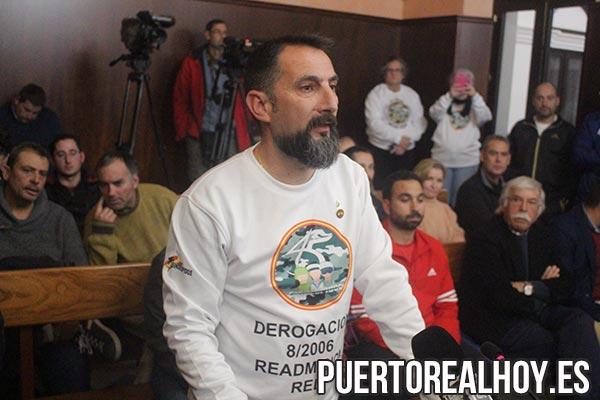 """Enrique Estévez, Coordinador de """"Los 45 Sin Despidos"""" en Cádiz."""