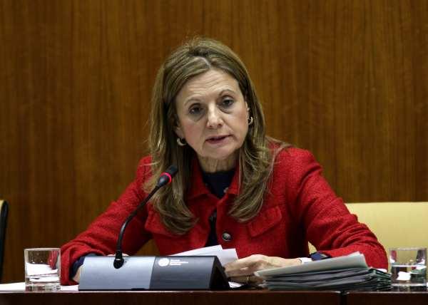 Marina Álvarez, Consejera de Salud de la Junta de Andalucía.