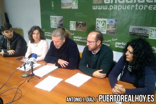 Rueda de Prensa del Partido Andalucista.