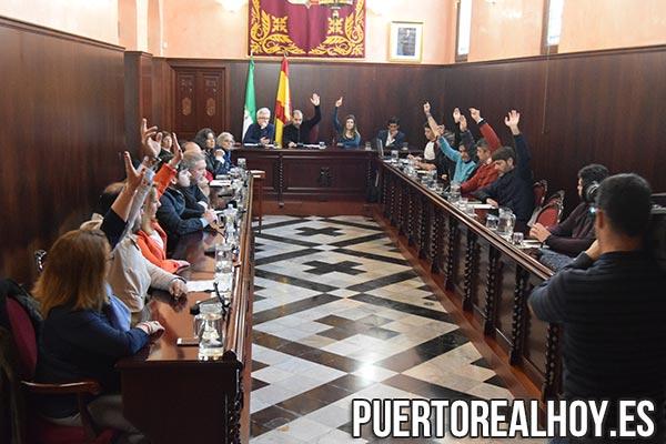 Votación del Pleno del Mes de Marzo del Ayto. de Puerto Real.