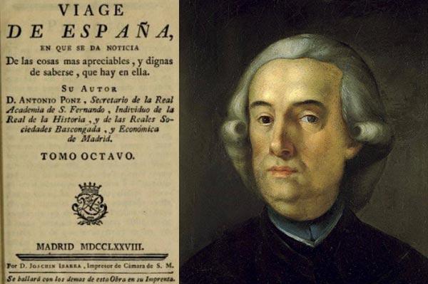 Antonio Ponz y su libro, Viage de España.