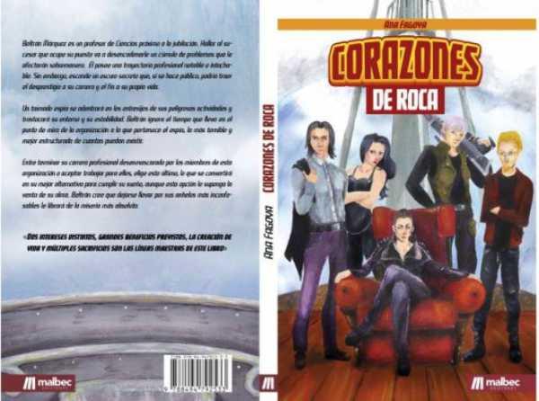 Corazones de Roca, de Ana Fagova