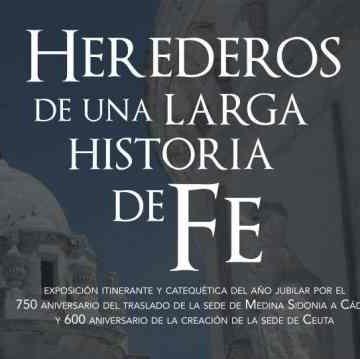 Cartel de la exposición Historia de Fe.