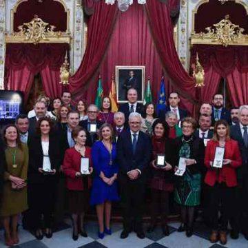 Premiados por la Diputación de Cádiz en el Día de la Provincia 2018.