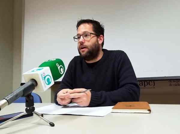 José Ignacio García, Coordinador Provincial de Podemos.