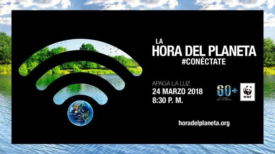 La Hora del Planeta en 2018.