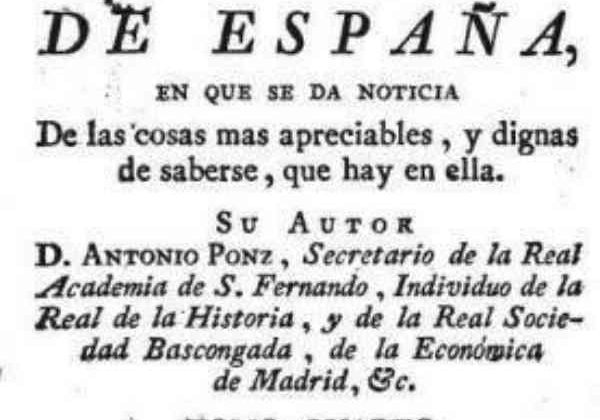 Viage de España.