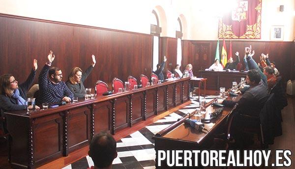 Votación del Pleno Extraordinario del Complejo Municipal de Piscinas