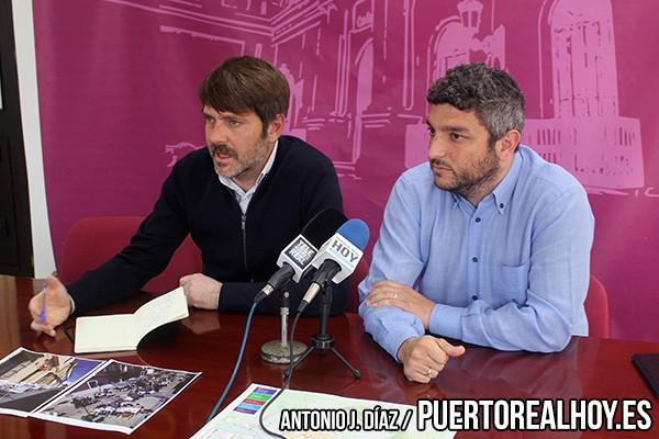 Alfredo Charques y Antonio Villalpando en rueda de prensa.