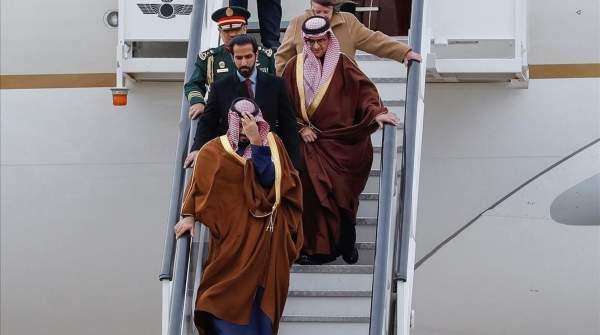 El Principe Heredero de Arabia Saudí visita España.