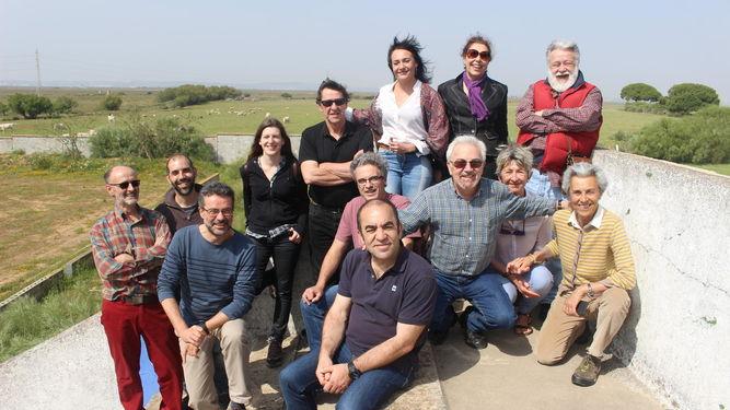 Amigos de la Tierra, Ecologistas en Acción, Greenpeace, SEO/Birdlife y WWF visitan Las Aletas.