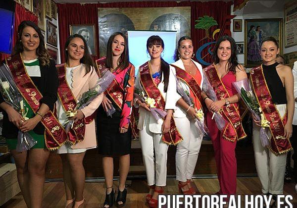 Damas de la Feria de Puerto Real 2018.