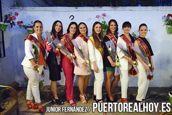 Damas de la Feria 2018 antes de su salida.