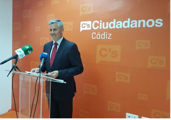 Javier Cano, de Ciudadanos.