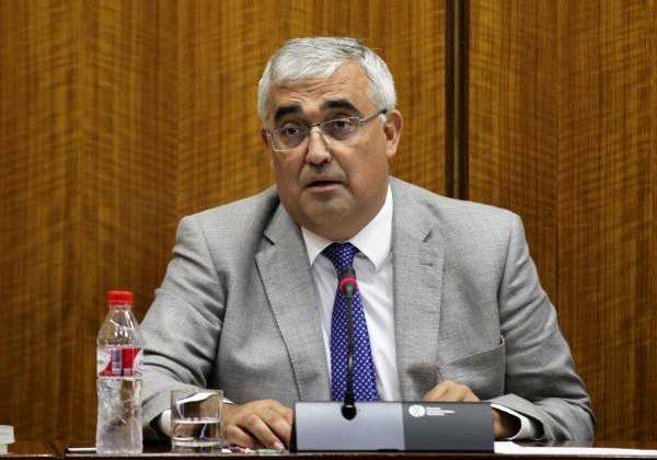 Antonio Ramírez de Arellano, Consejero de Economía de la Junta de Andalucía.