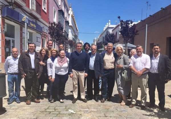 Miembros del Partido Popular en Puerto Real.